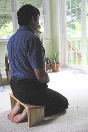 P Meditating